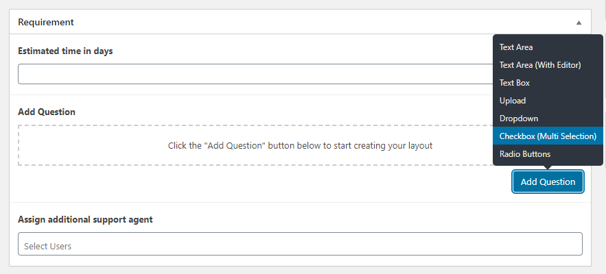 add requirements - Wbcom Designs