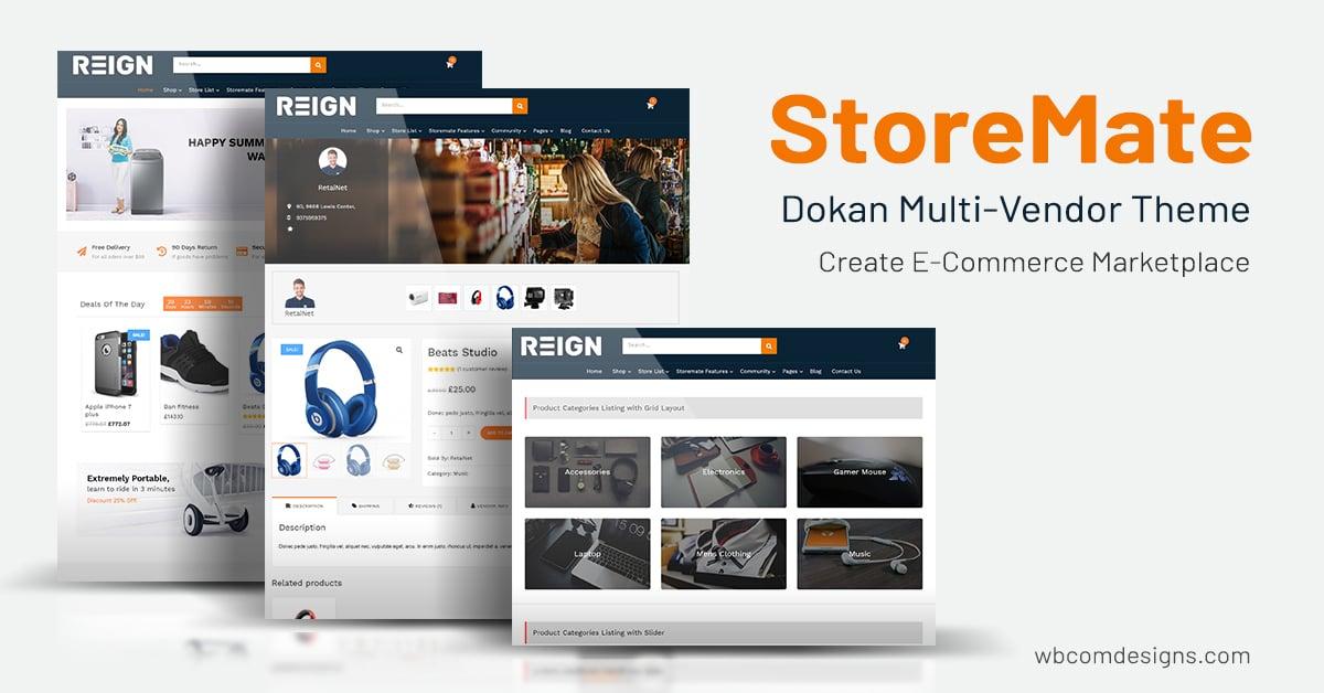 Multivendor Marketplace Theme
