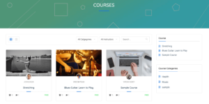 Course Directory Search