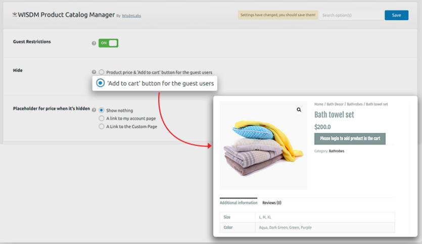 Product Catalog in WordPress