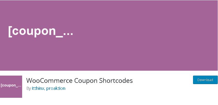 coupon Plugin