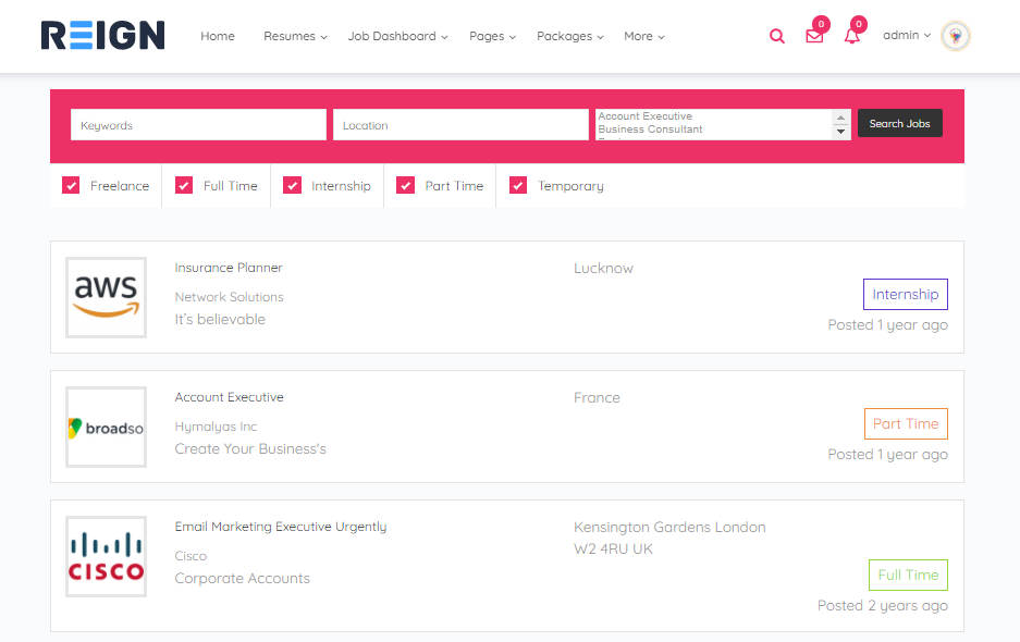 Manage the applications from Job dashboard- wordpress Filterable Job Listings