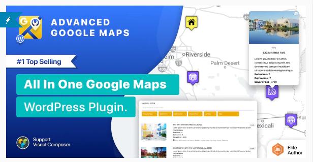 Advanced google map