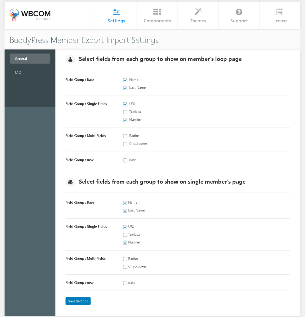 BP Modify Member Directory Header ‹ buddypress - Wbcom Designs