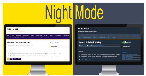 Best WordPress Plugins for Dark Mode