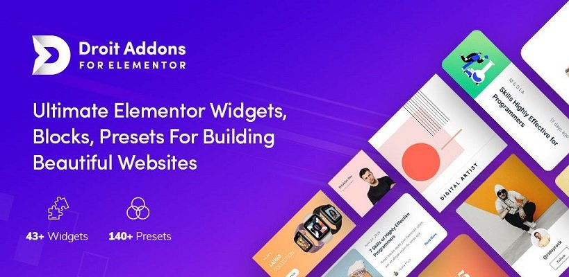 Droit Addons for Elementor