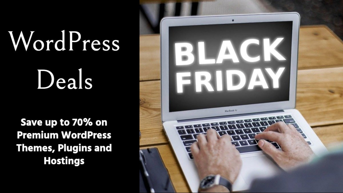 WordPress black friday deals 2020