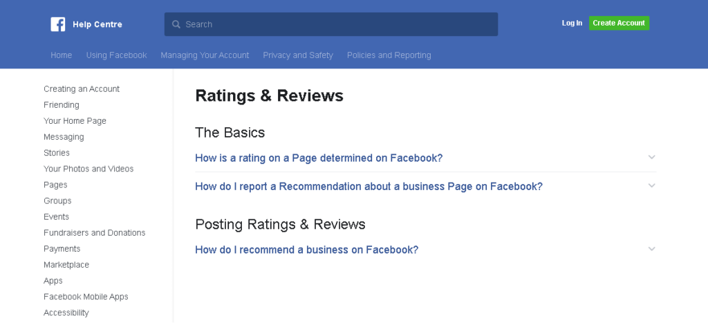 Customer Review  for Business