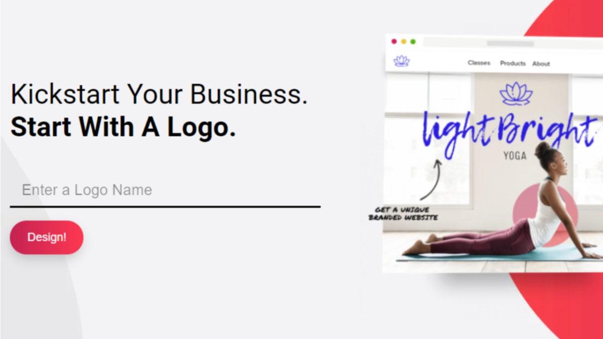 logo maker Made with DesignCap