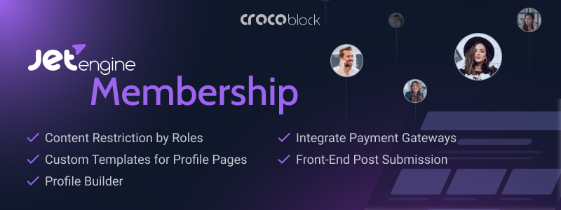 JetEngine Membership Solution