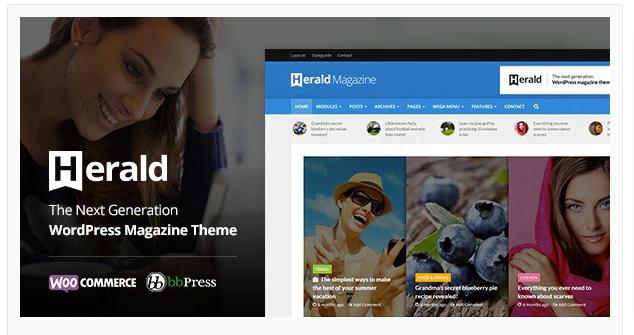 WordPress Themes-Herald