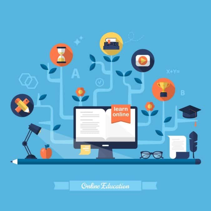 Educational Platform, Training Software, and LMS