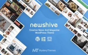 Newshive responsive wordpress theme
