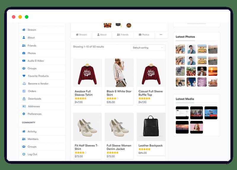 PeepSo WooCommerce Integration