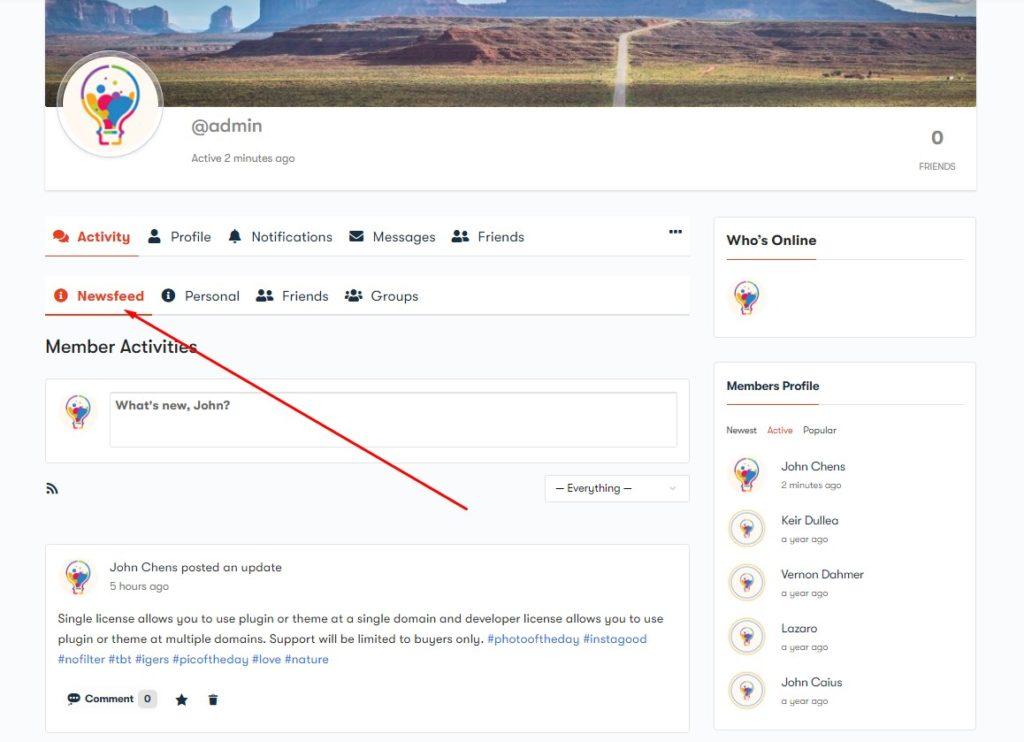Screenshot 20 - Wbcom Designs