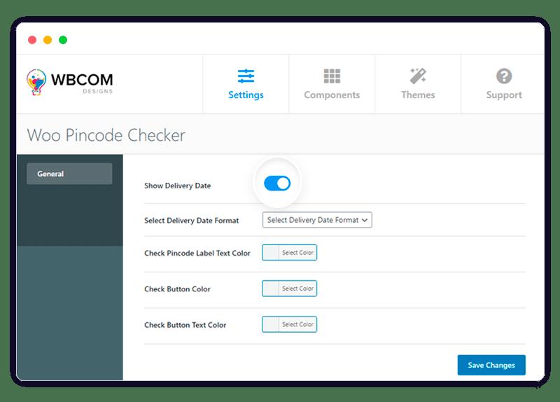 pincode checker 2 - Wbcom Designs