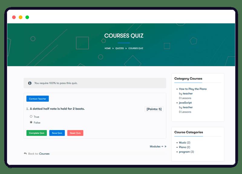 quiz 1 - Wbcom Designs