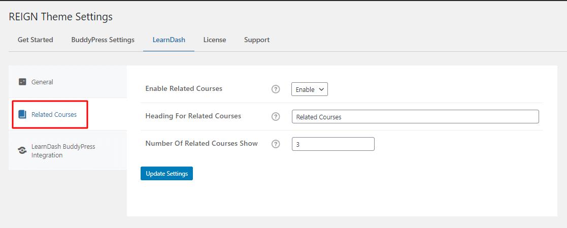 related course - Wbcom Designs