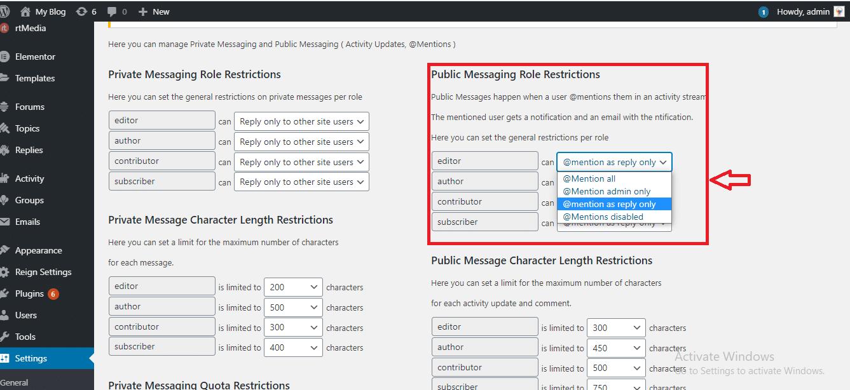 BuddyPress Messaging Control Review WordPress Plugin