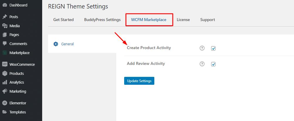 settings 2 - Wbcom Designs