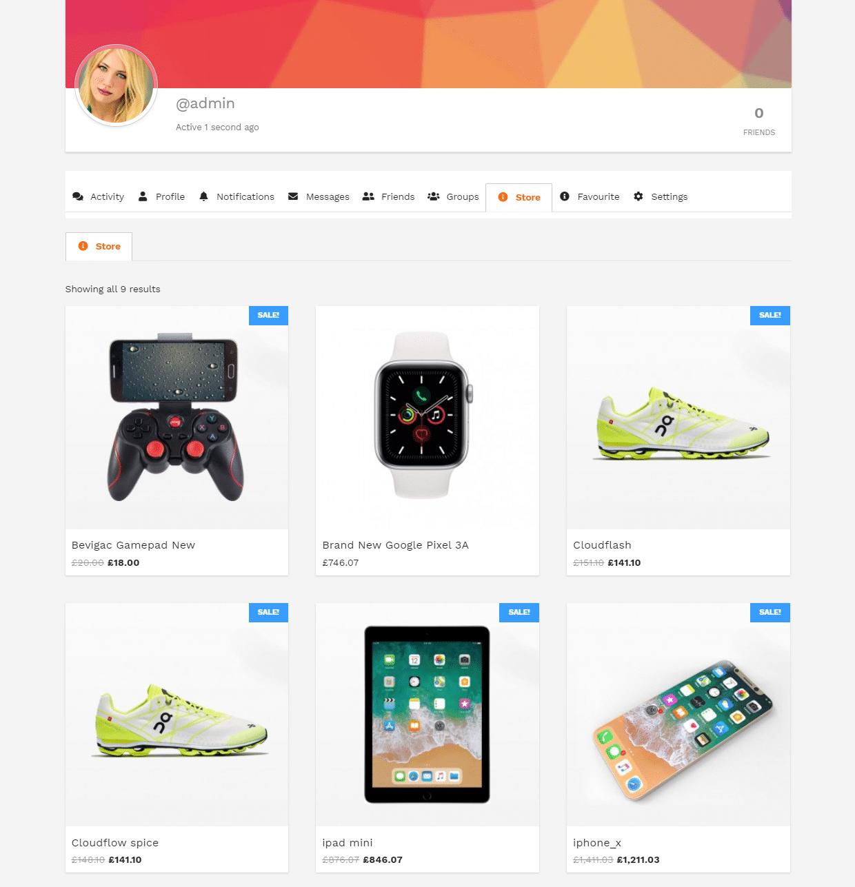 tab - Wbcom Designs