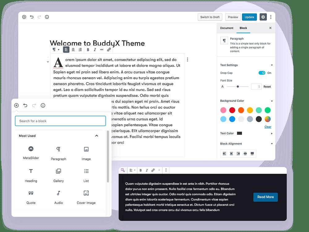 buddyx-theme-editor