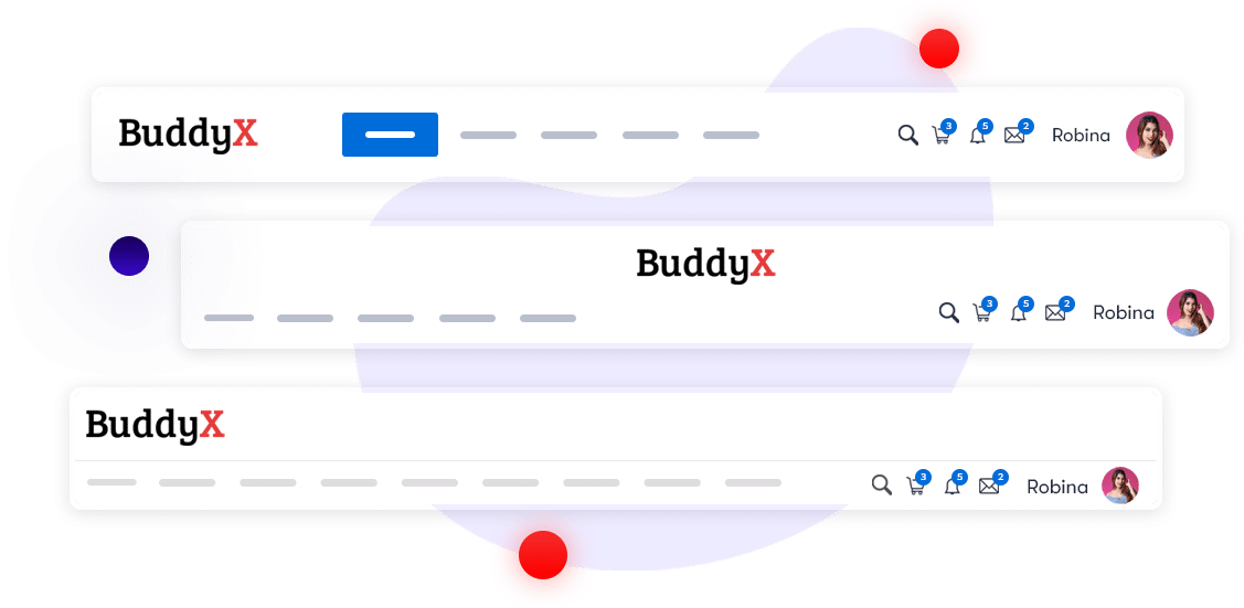 Buddyx Pro Header