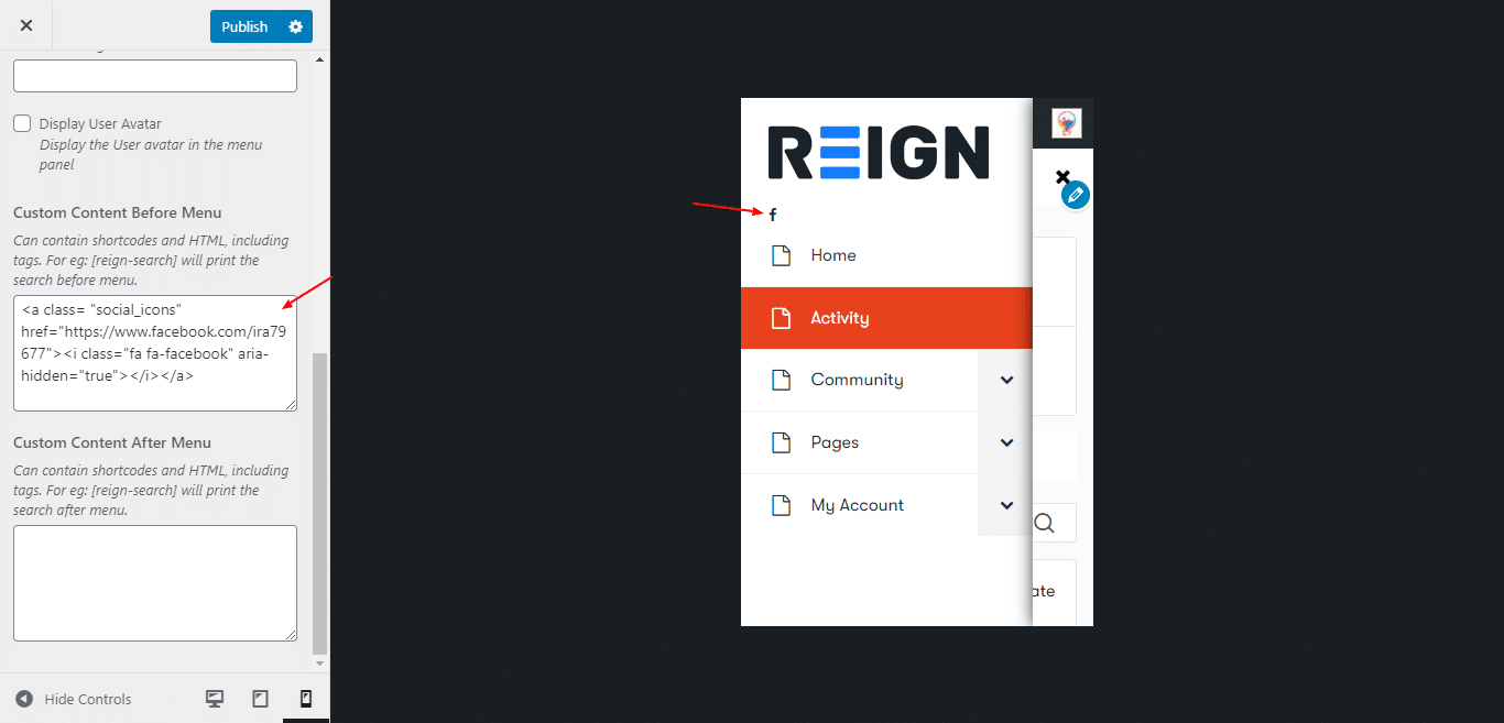 Customize Reign – Just another WordPress site - Wbcom Designs