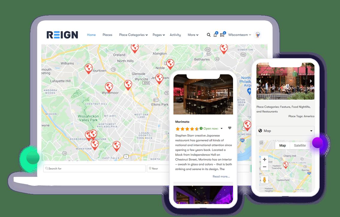 Regin-geo-location-mobile-view