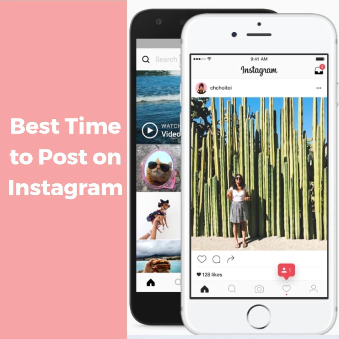 Best Time to Post on social media Instagram