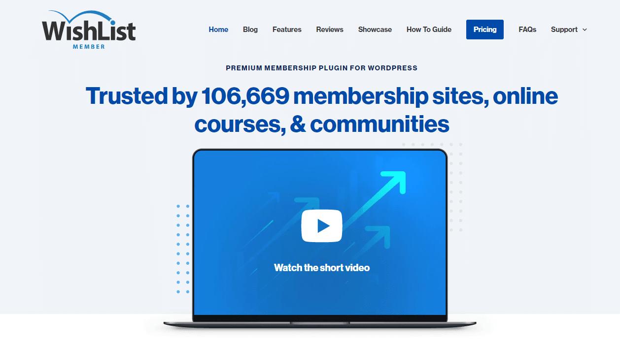 Wishlist Member, membership website development