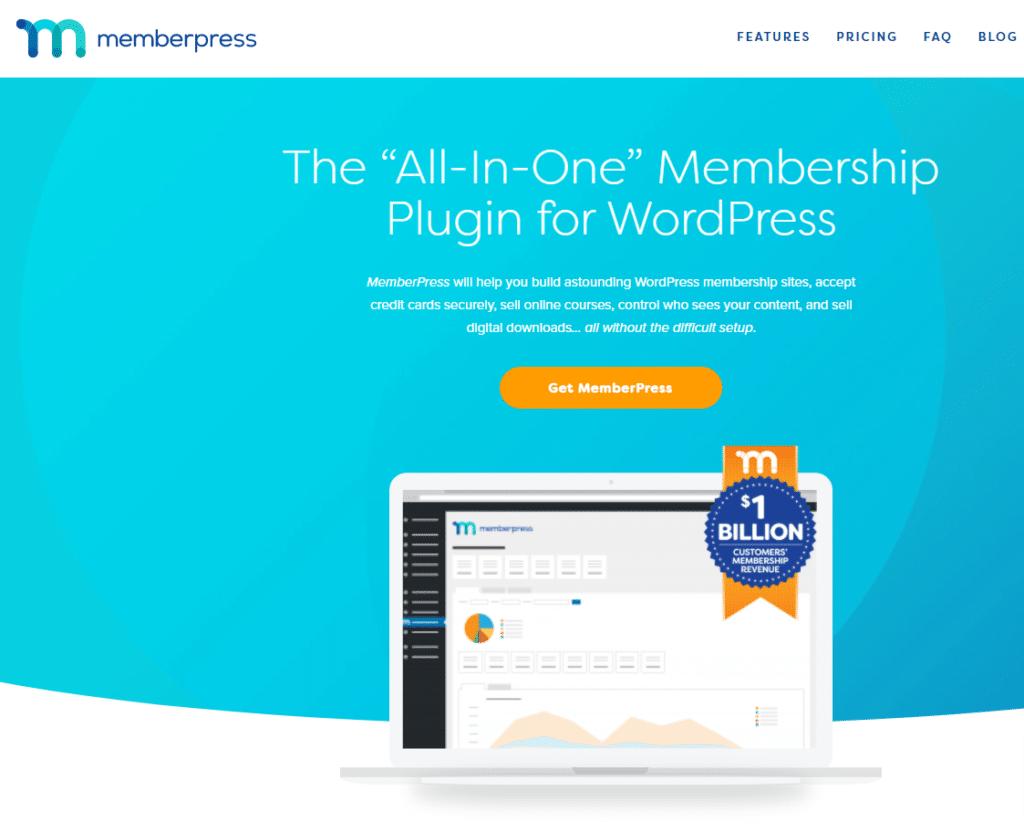 MemberPress, membership website development