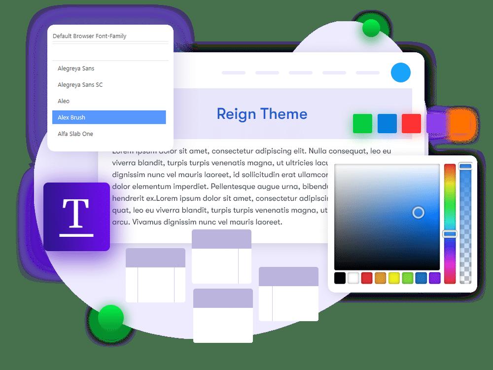 reign-theme-typography