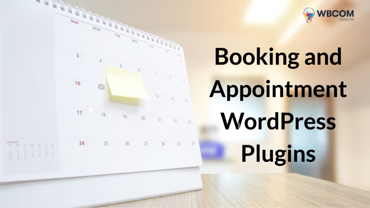 Booking and Appointment WordPress Plugins