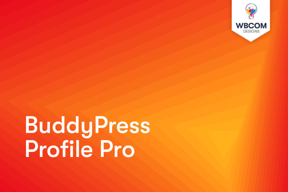 BuddyPress Profile Pro - Wbcom Designs