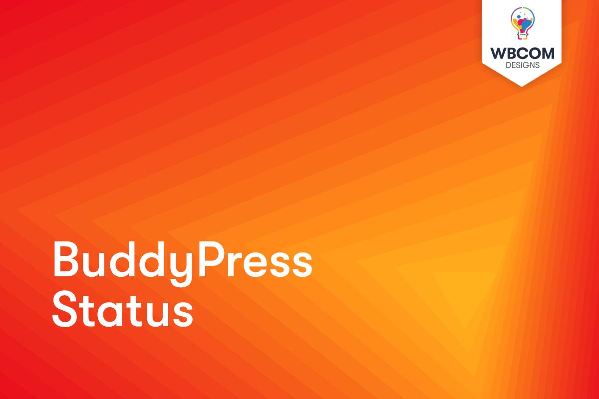 BuddyPress Status