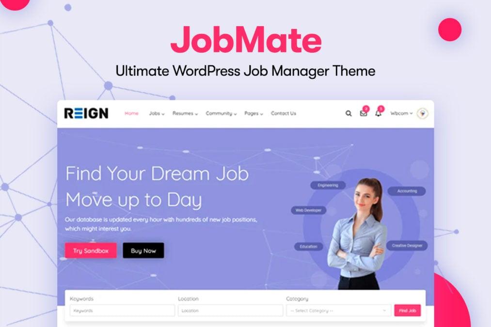 Jobmate 1 - Wbcom Designs