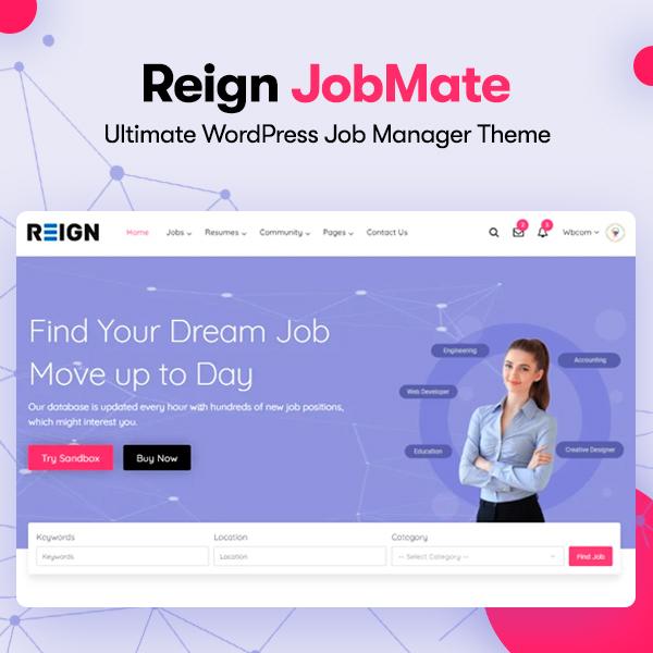 Jobmate - Wbcom Designs
