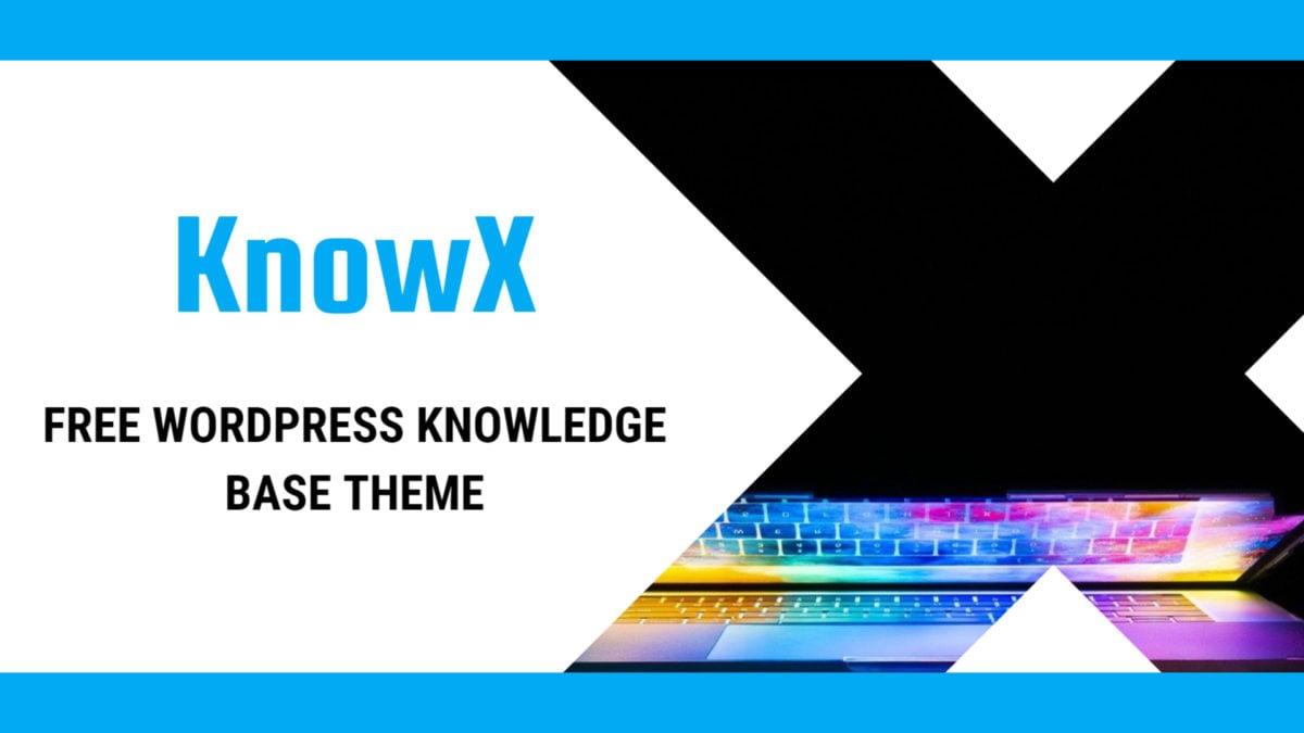 KnowX WordPress theme