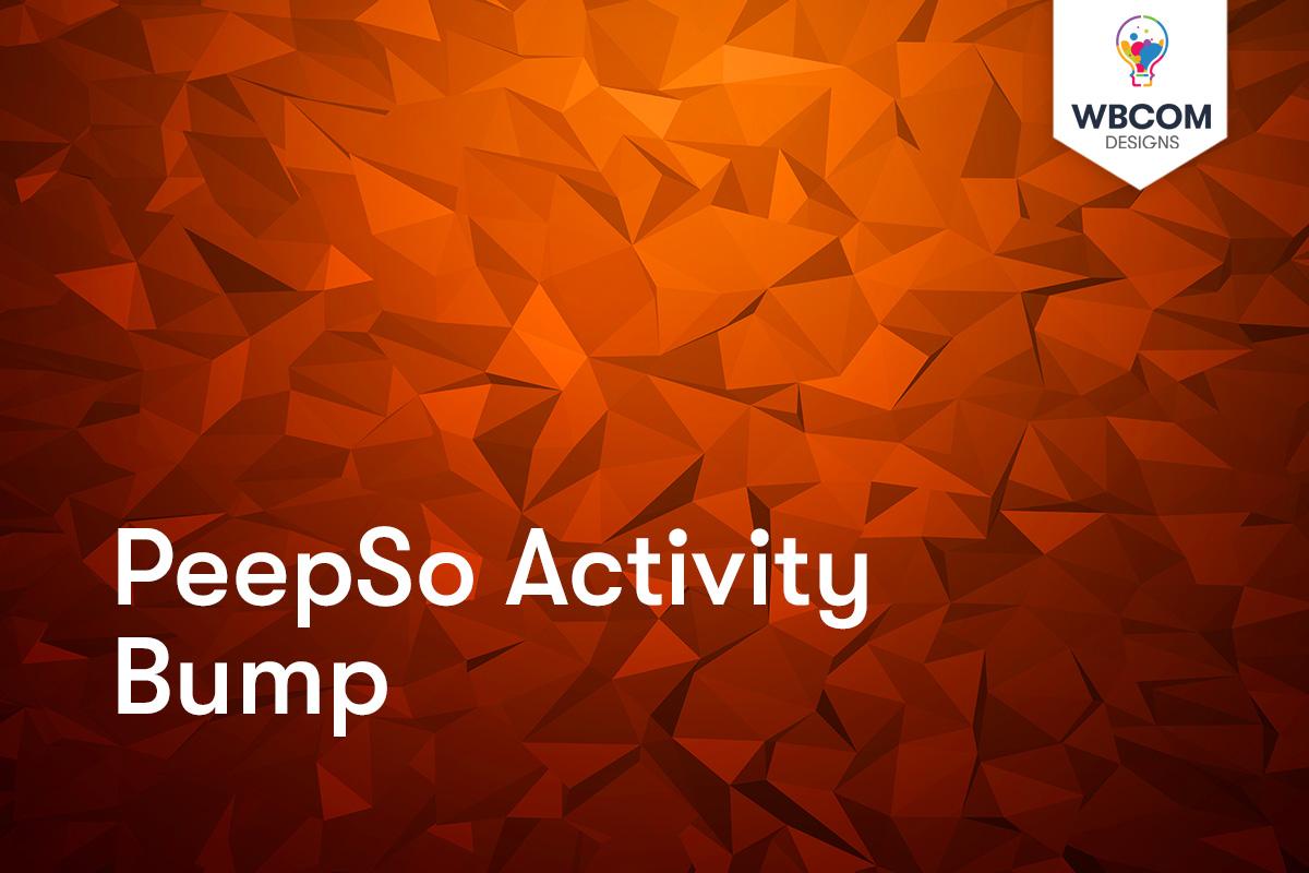 PeepSo Activity Bump
