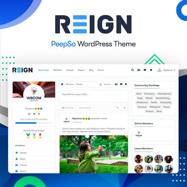PeepSo Community - Wbcom Designs