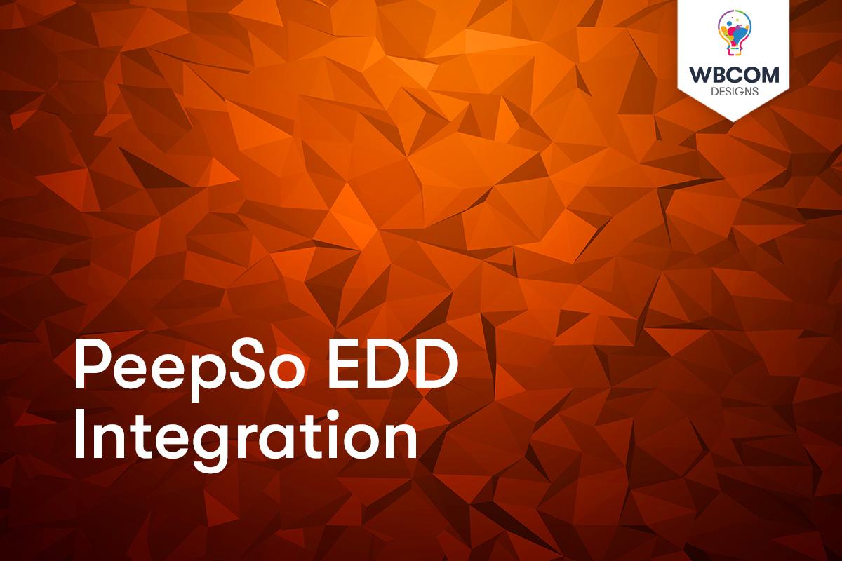 PeepSo EDD - Wbcom Designs
