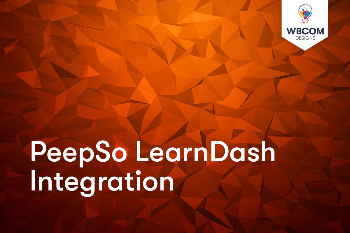 PeepSo LearnDash Integration