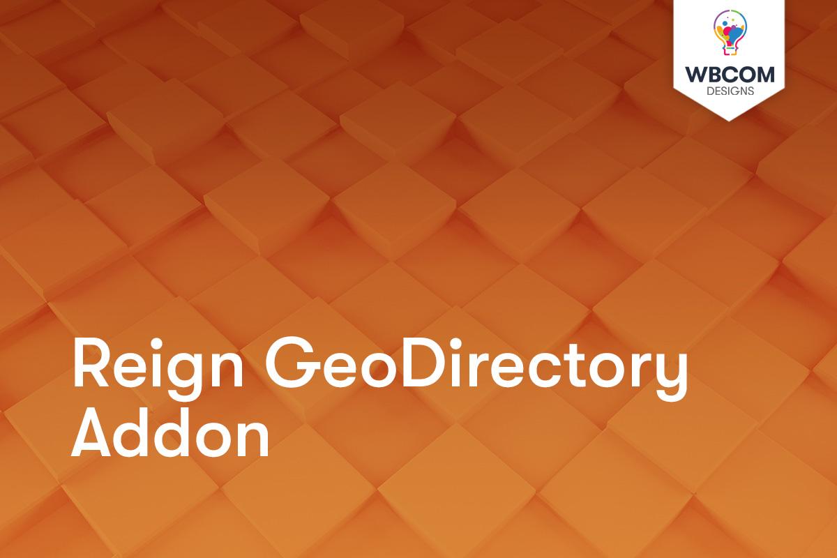 Reign GeoDirectory Addon