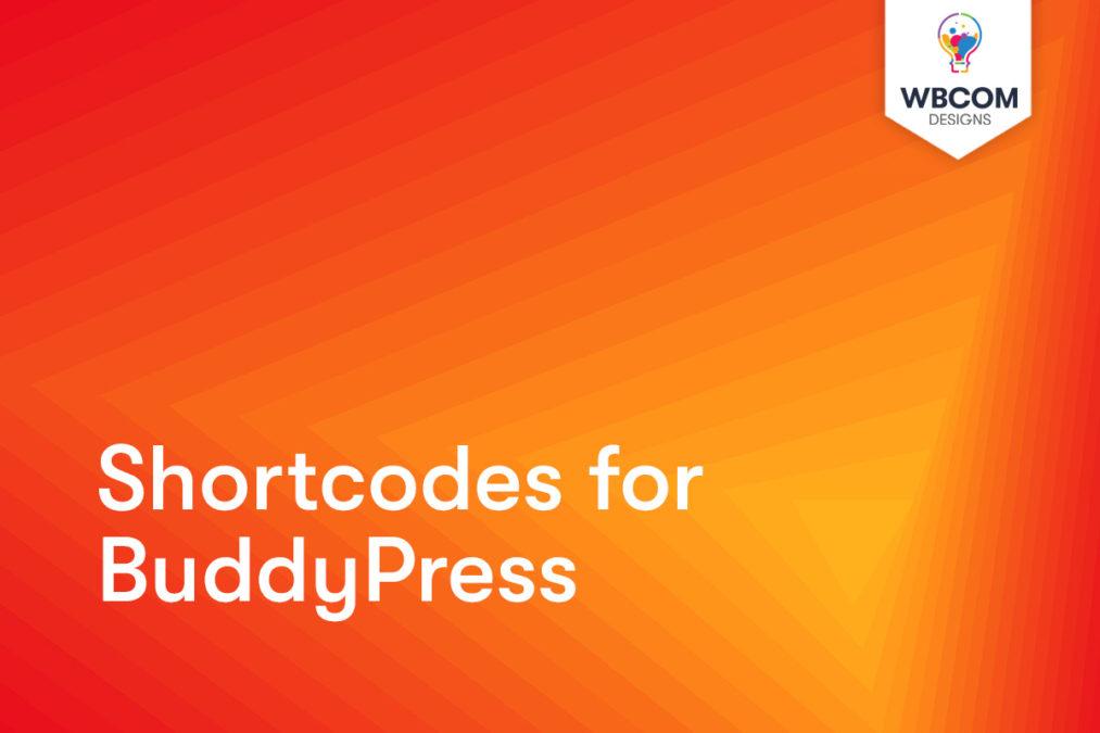 BuddyPress members shortcode
