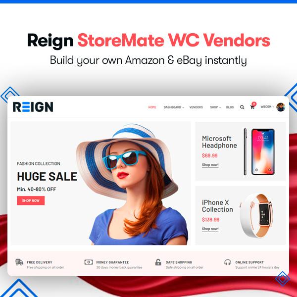 Storemate wc vendor - Wbcom Designs