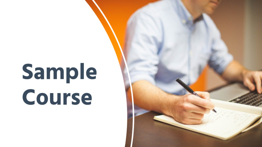 Sample Course
