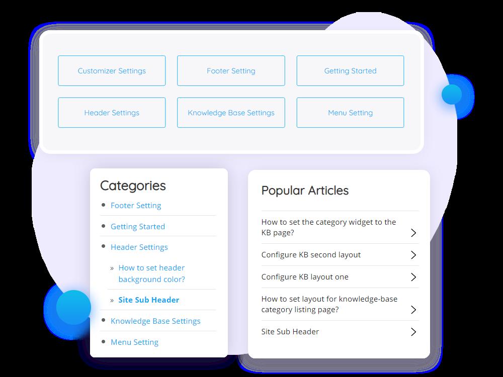 WordPress Theme for Knowledge Base