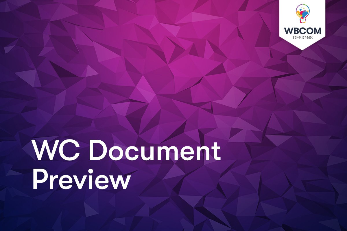 WC Document Preview