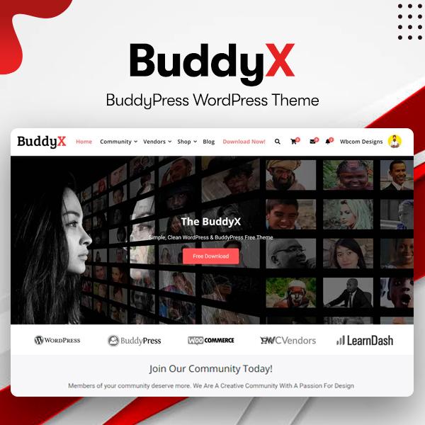 buddyX - Wbcom Designs